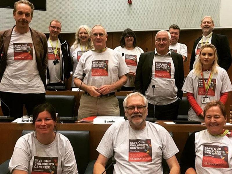 Labour Councillors Save Our Children's Centres Campaign