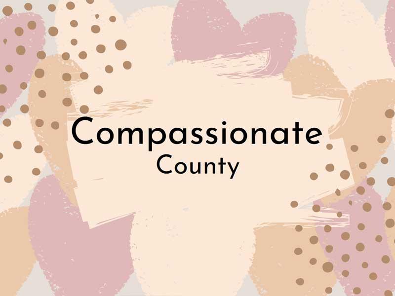 Compassionate County Graphic