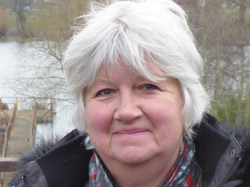 May 2021 Candidate Photos Pam Reekie in Diss and Roydon Division