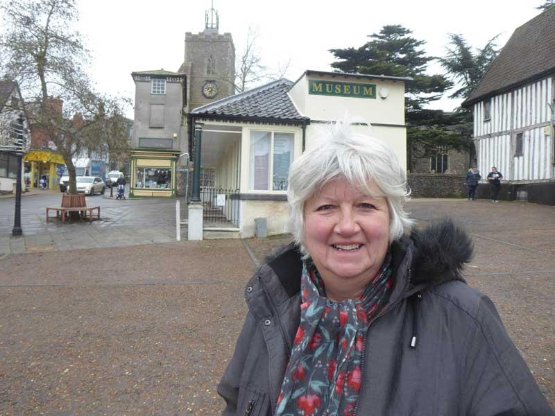 May 2021 Candidate Photos Pamela Reekie in Diss and Roydon Division
