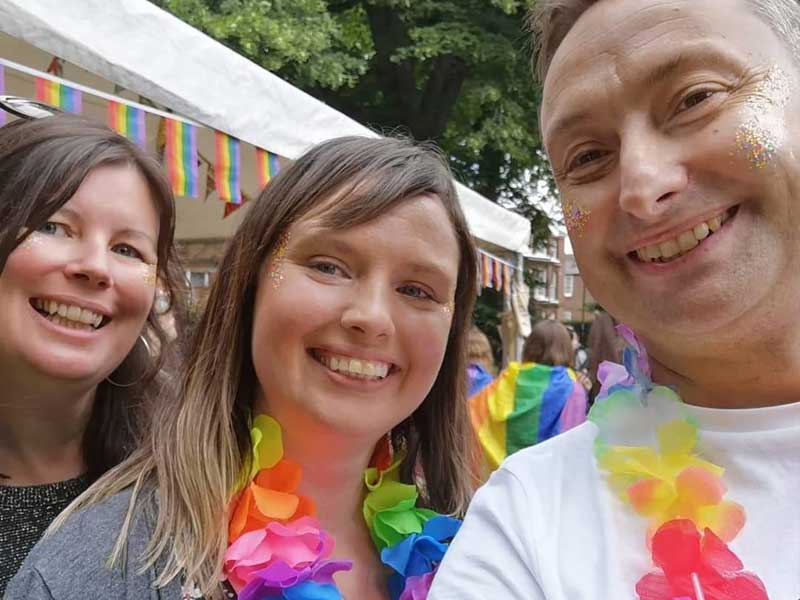 Candidates at Norwich Pride 2019