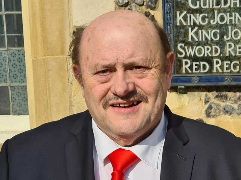 May 2021 Candidate Photos Wilfred Lambert in Kings Lynn North and Central Division
