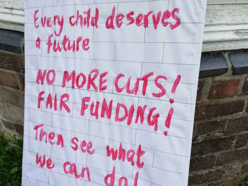 Children's Centre Cuts Campaign Poster