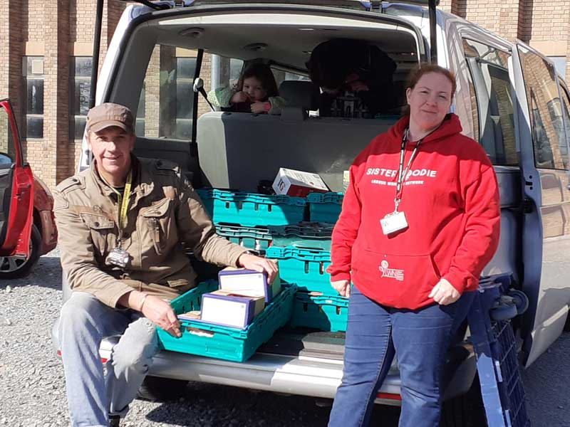 Mike Smith-Clare & Cathy Cordiner-Achenbach Food Bank