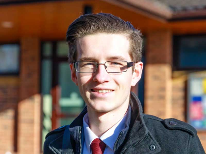 May 2021 Candidate Photos Thomas Rednall in Reepham Division