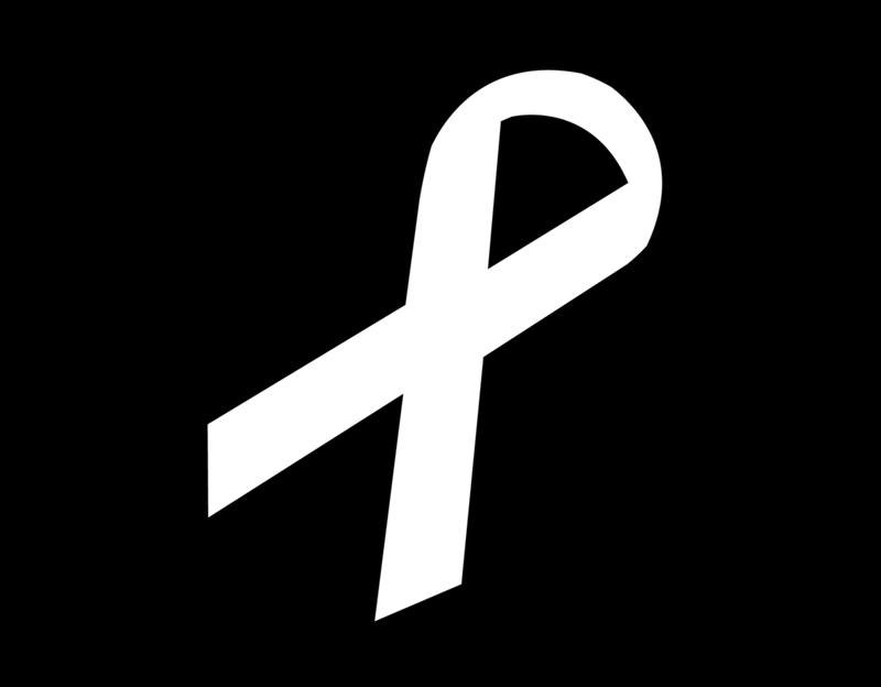 White Ribbon Logo from whiteribbon.org.uk
