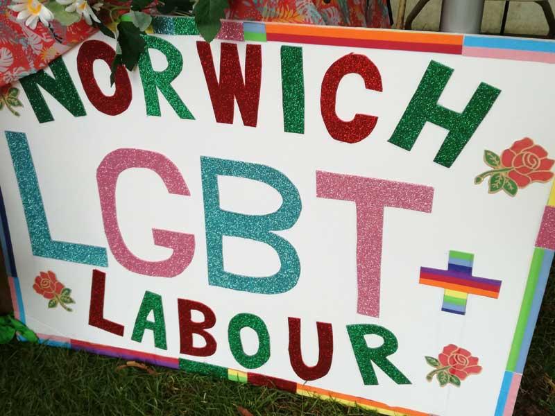 Norwich Pride 2019 Norwich LGBT Pride Banner