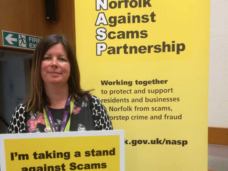 Norfolk Against Scams Partnership (NASP) with Emma Corlett