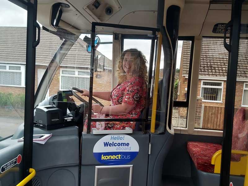 Konnect Bus Natasha Harpley Sprowston Division Broadland