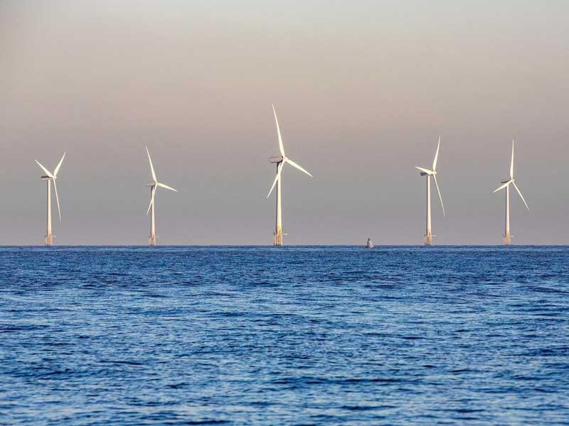 Norfolk Coast Wind Turbines