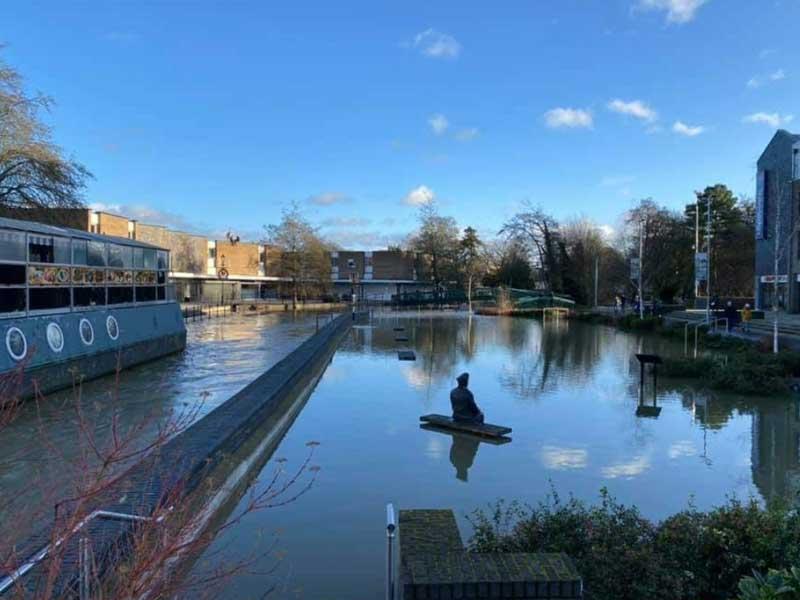 Town Centre Flooding photo